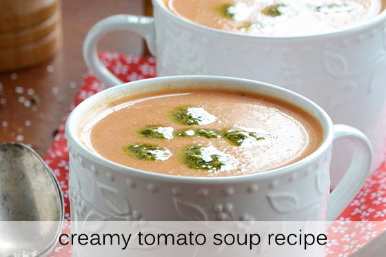 Creamy Tomato Soup Recipe with Description