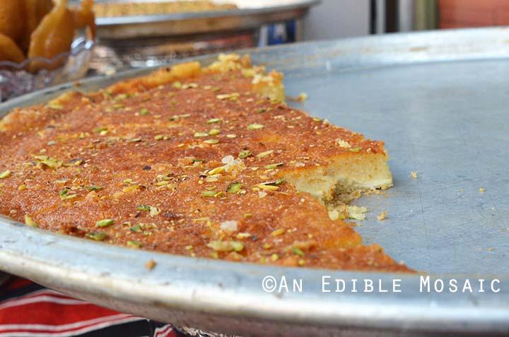 Harissa Dessert in Syria