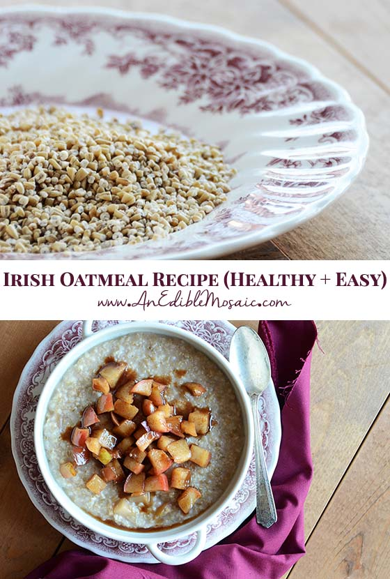 Irish Oatmeal Recipe Pin