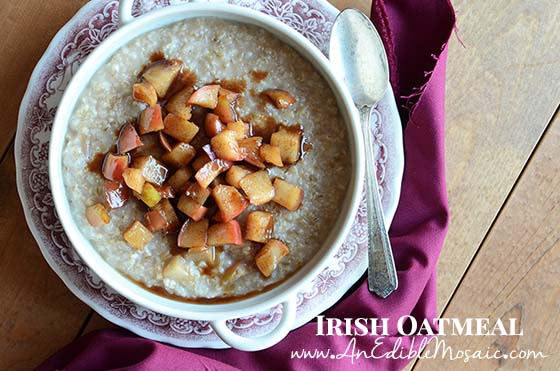 Irish Oatmeal Recipe with Description