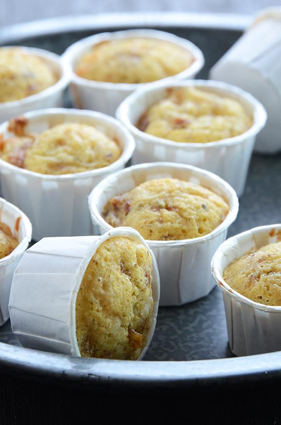 French Onion Mini Muffins