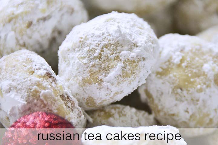 Russian Tea Cakes Recipe with Description