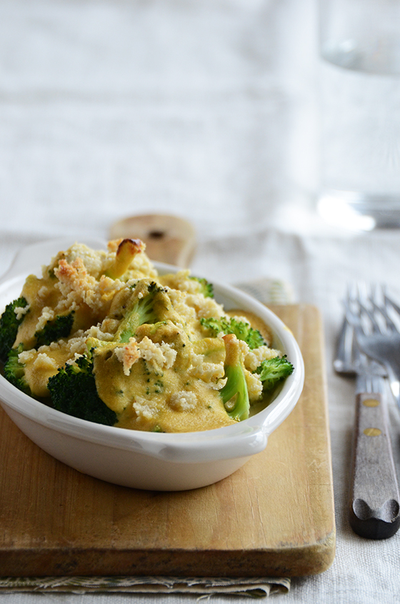 Broccoli Divan {Vegan; Grain-Free; Gluten-Free}