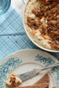 Warm Caramelized Onion + Chickpea Spread 3