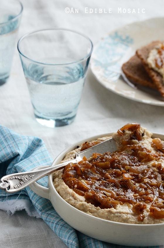 Warm Caramelized Onion + Chickpea Spread
