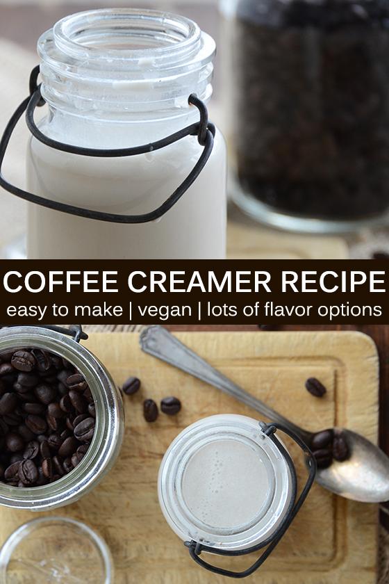 Coffee Creamer Recipe Pin