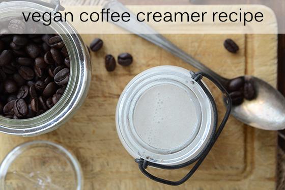 Vegan Coffee Creamer Recipe