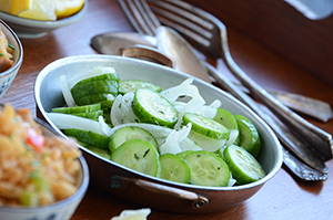 Thai-Inspired Sweet & Tangy Cucumber Salad