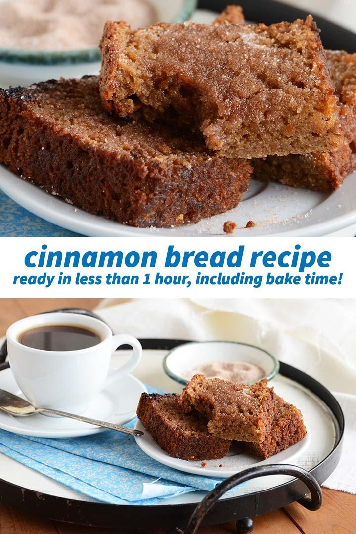 Cinnamon Bread Recipe Pin
