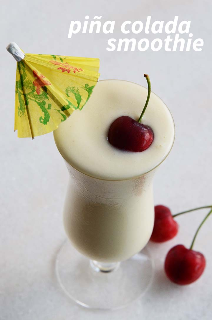 Piña Colada Smoothie Pin