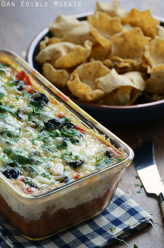 Cheesy Warm Bean Dip 2