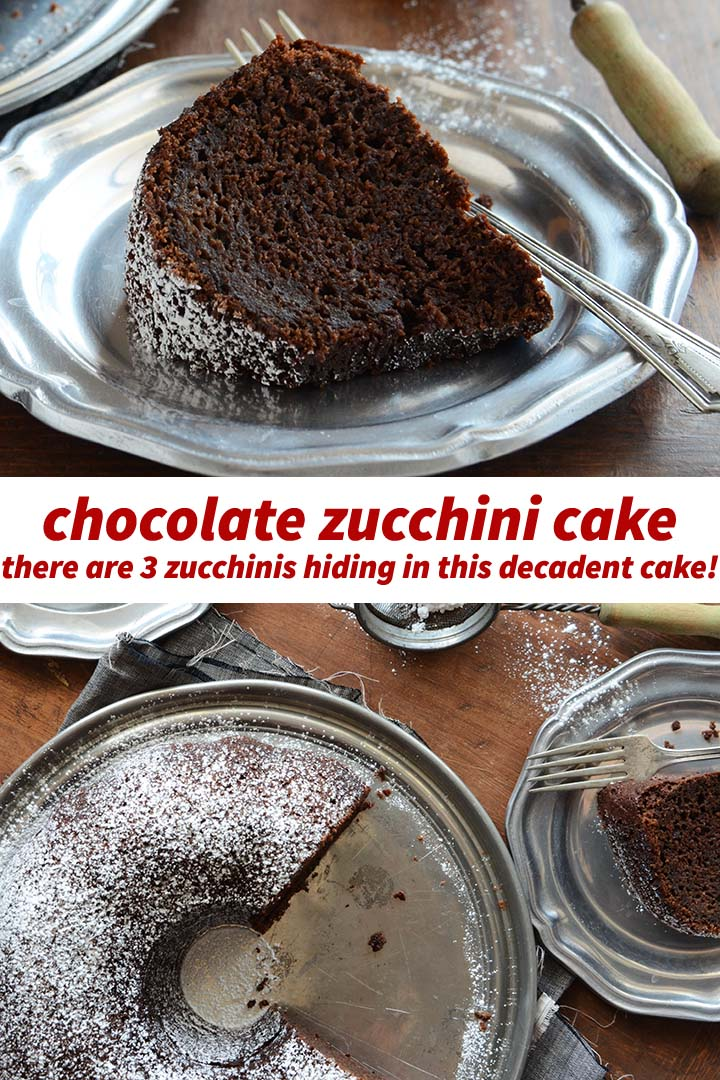 Chocolate Zucchini Cake Pin