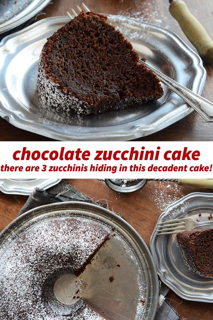 Chocolate Zucchini Cake Pin
