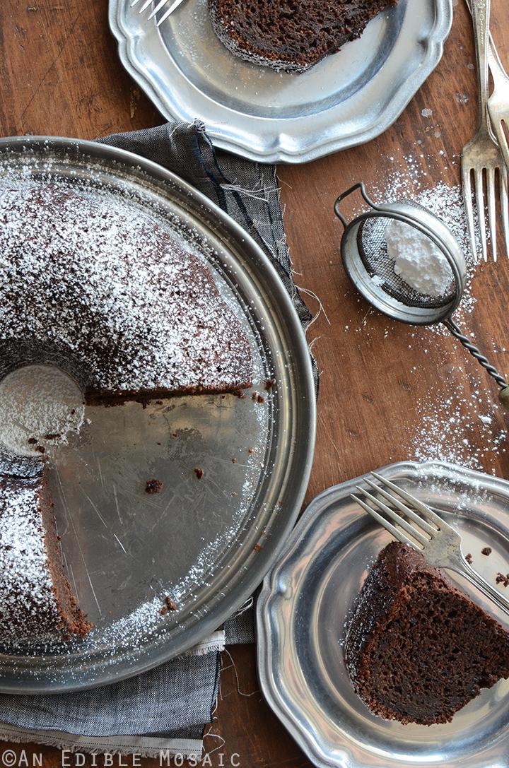 Cinnamon and Orange-Spiced Chocolate Zucchini Cake 2