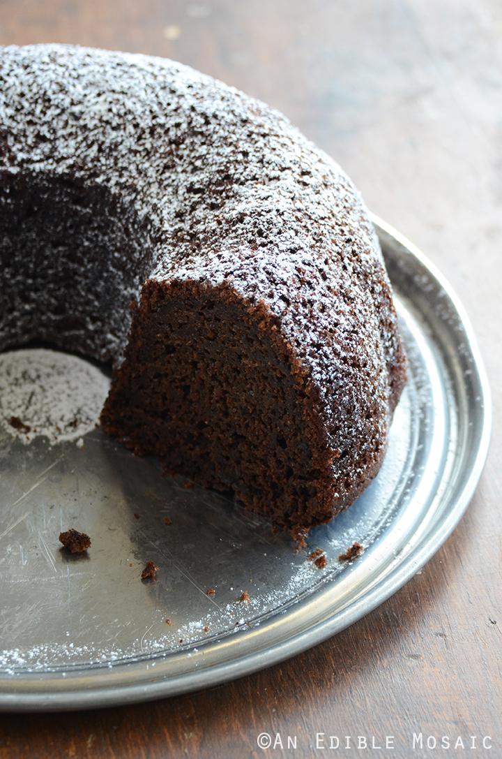 Cinnamon and Orange-Spiced Chocolate Zucchini Cake 3