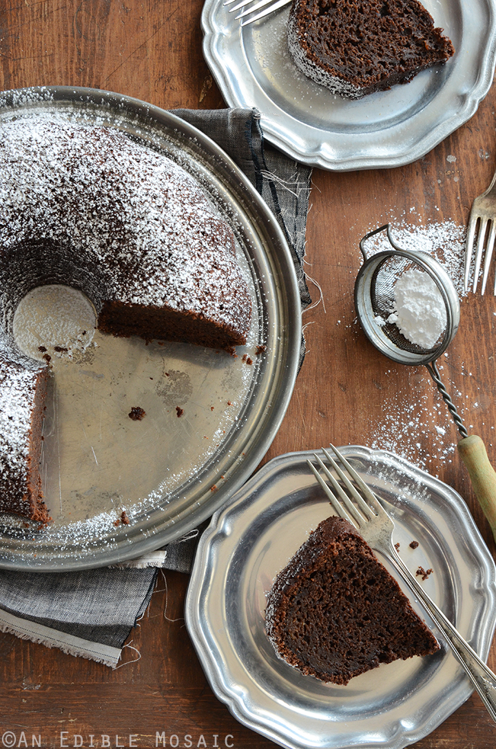 Cinnamon and Orange-Spiced Chocolate Zucchini Cake 4
