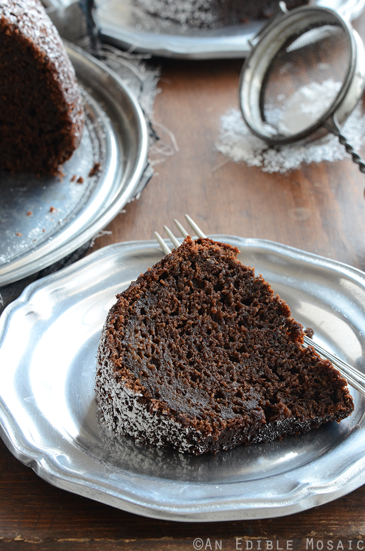 Cinnamon and Orange-Spiced Chocolate Zucchini Cake 5