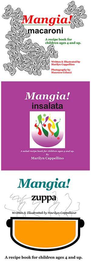 Mangia Children's Cookbooks Review & Giveaway
