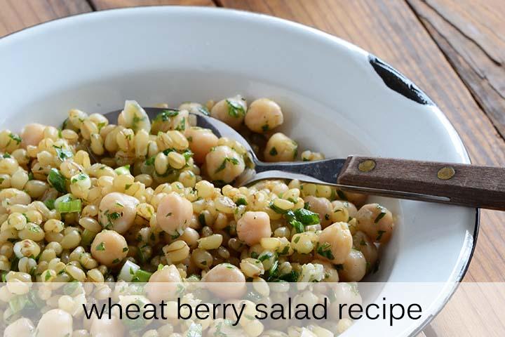 Wheat Berry Salad Recipe with Description