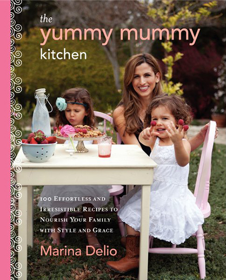 Peanut Butter & Jelly Granola Bars Recipe {And a Review of The Yummy Mummy Kitchen Cookbook}