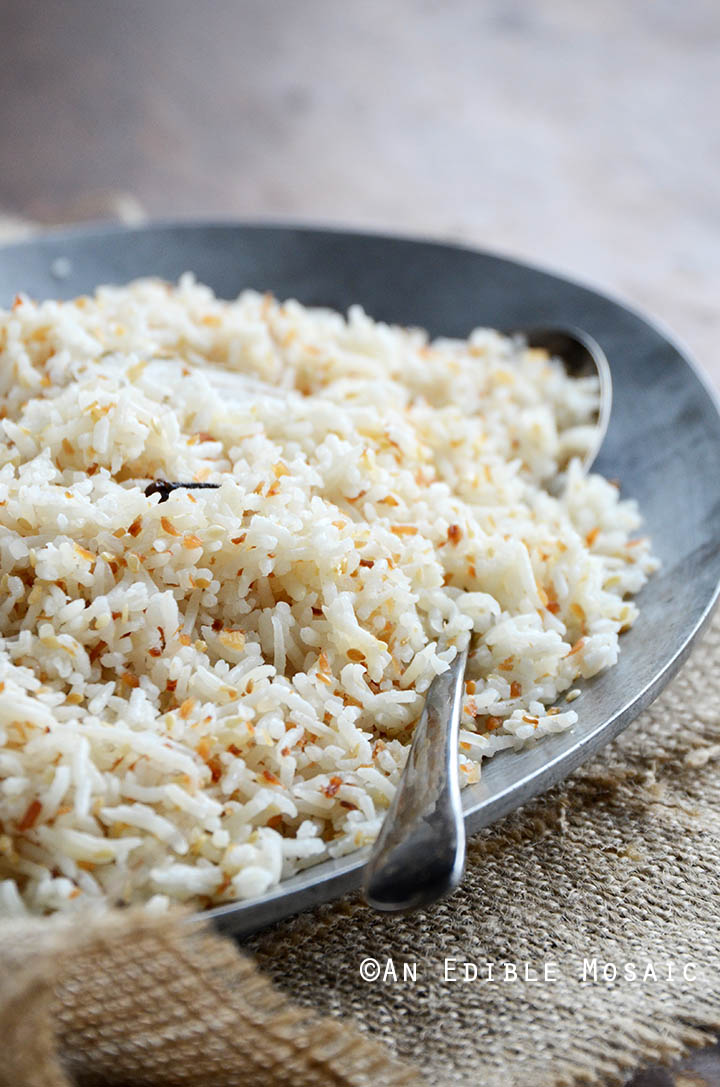 Coconut-Sesame Rice 2