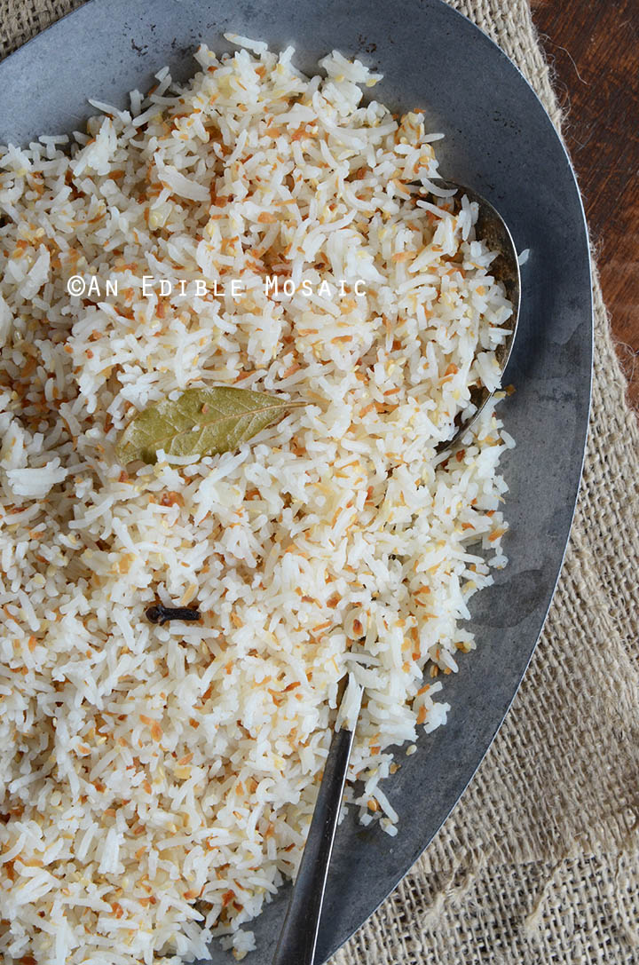 Coconut-Sesame Rice 3
