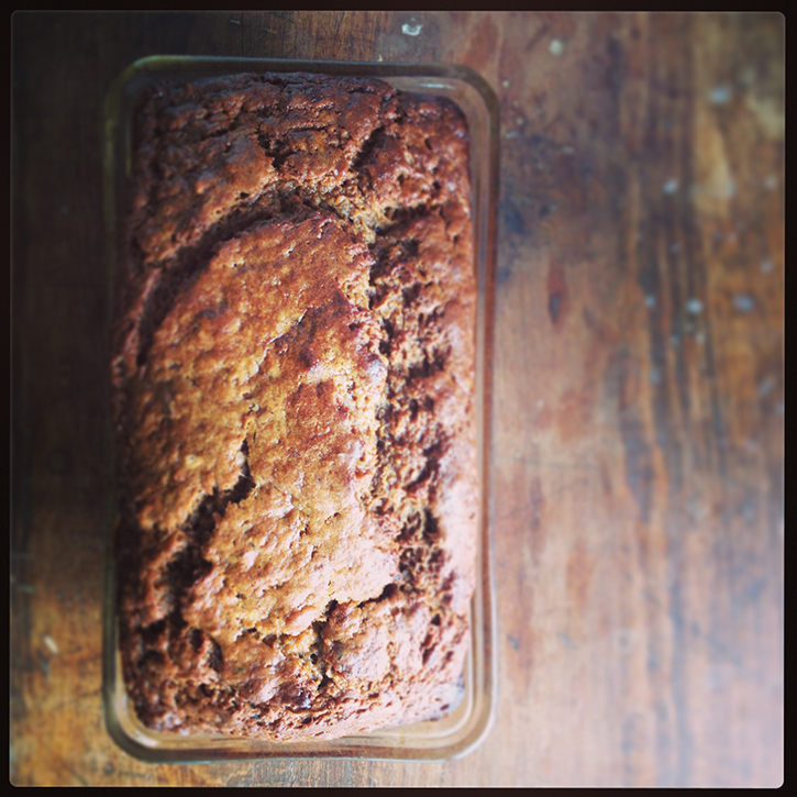 Homemade Maple Cinnamon Banana Nut Bread