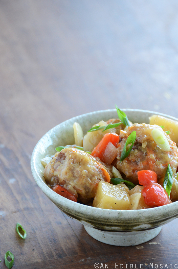 Sweet and Sour Turkey Meatballs 1