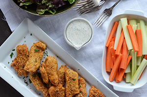 Baked Chicken Tenders {Gluten-Free}