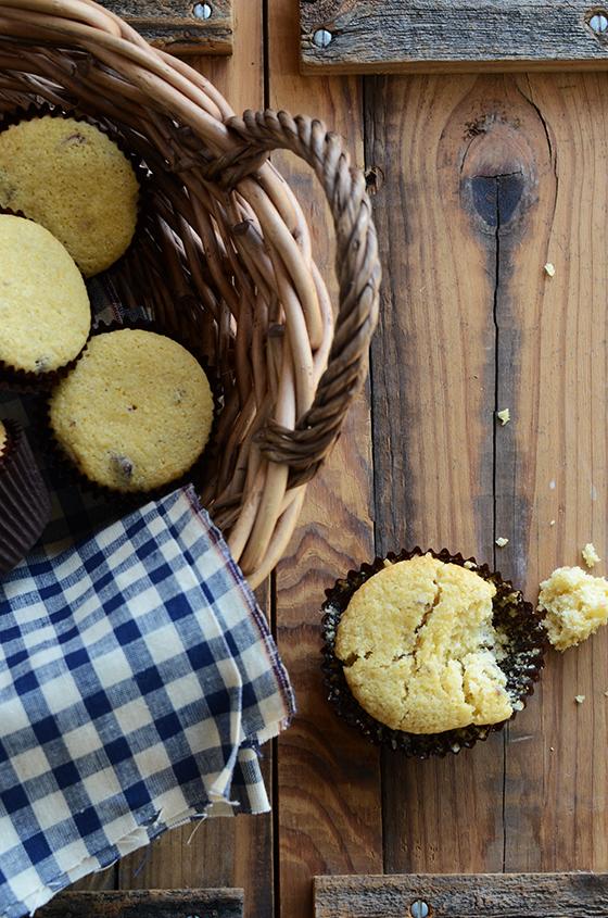 Gluten-Free Cranberry-Orange-Pecan Cornbread Muffins