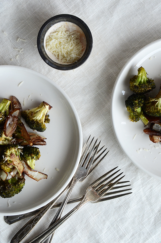 Balsamic-Roasted Broccoli