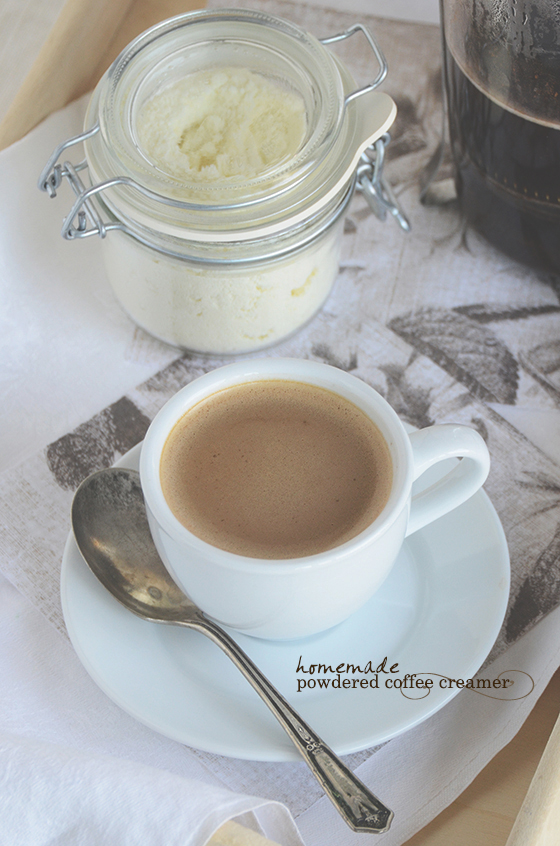 Homemade Vanilla Powdered Coffee