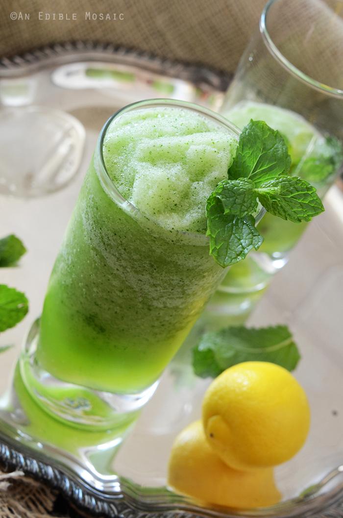 Limonana (Middle Eastern Frozen Mint Lemonade) 2
