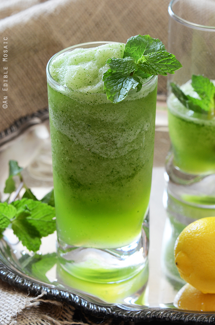 Limonana (Middle Eastern Frozen Mint Lemonade)