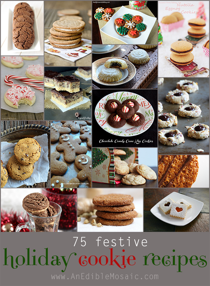 75 Festive Holiday Cookie Recipes