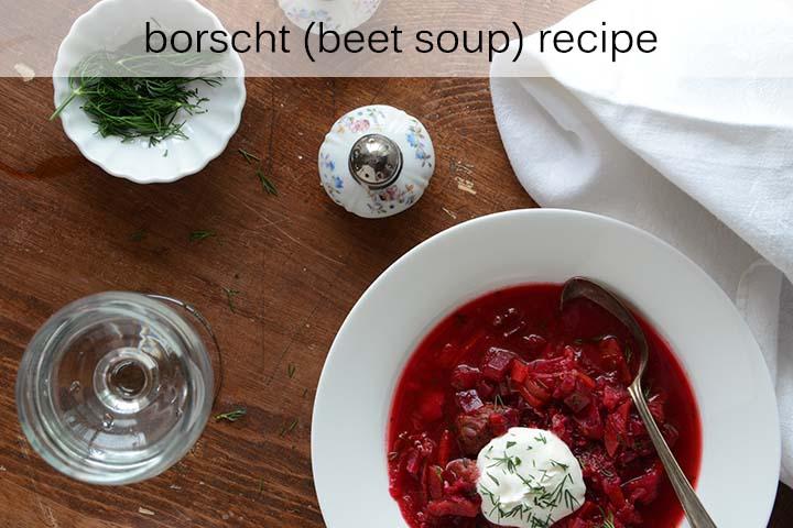 Beet Soup Recipe with Description