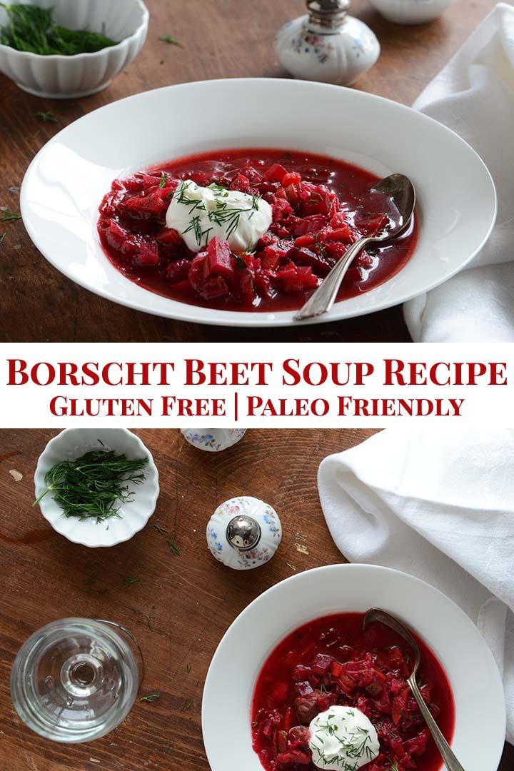 Borscht Beet Soup Recipe Pin