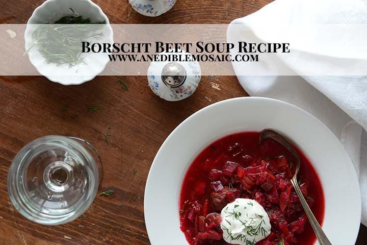 Borscht Beet Soup Recipe with Description