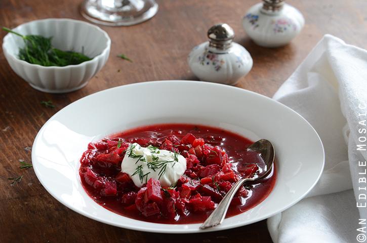 Borscht (Russian-Style Beet Soup) 4