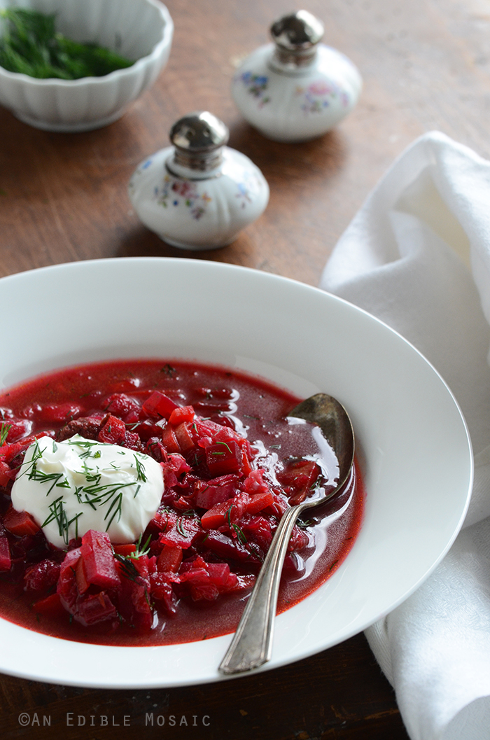 Borscht Recipe Russian Style Beet Soup