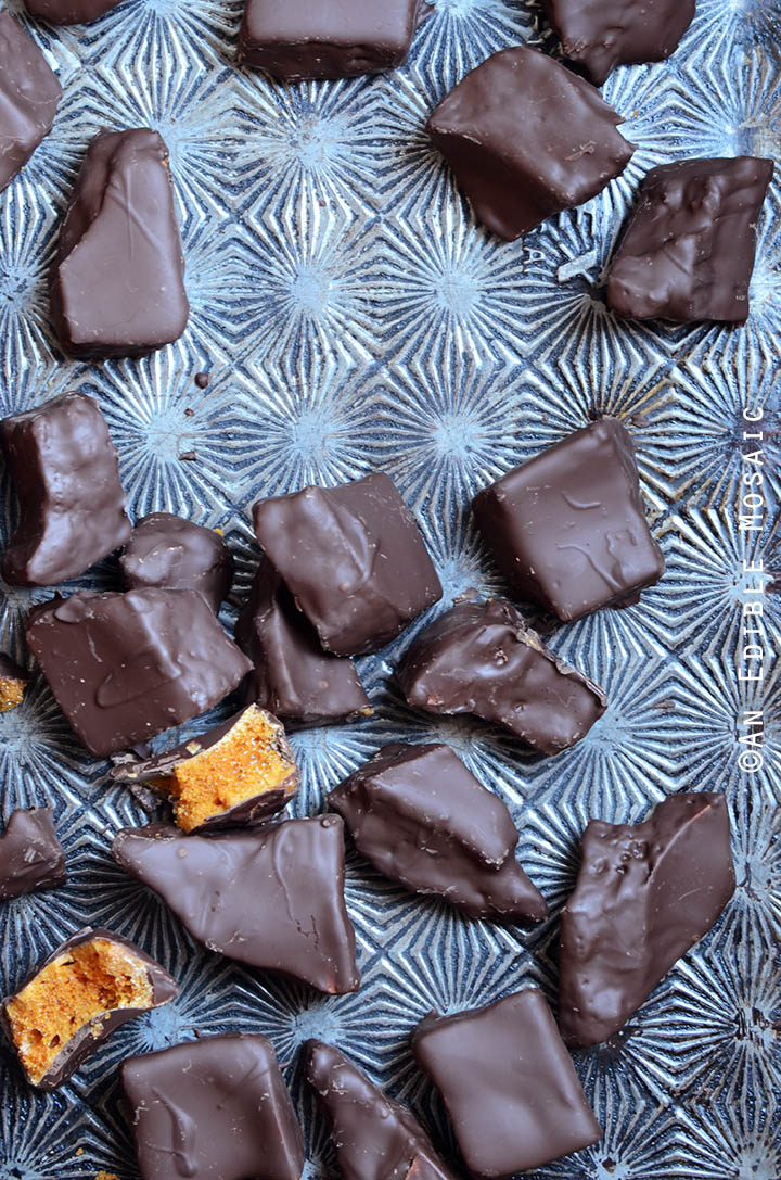 Chocolate-Covered Sponge Candy 2