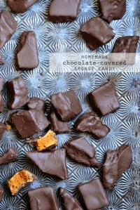 Homemade Chocolate-Covered Sponge Candy