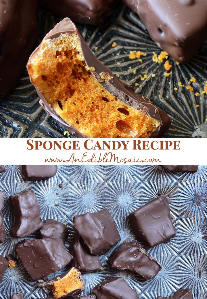 Sponge Candy Recipe Pin