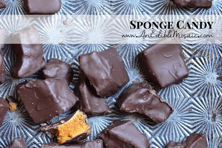 Sponge Candy with Description