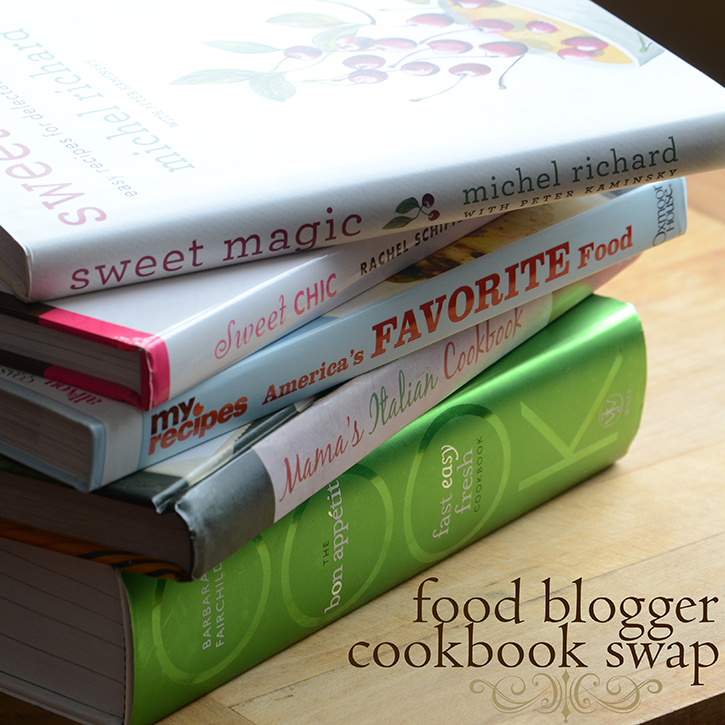 Food Blogger Cookbook Swap