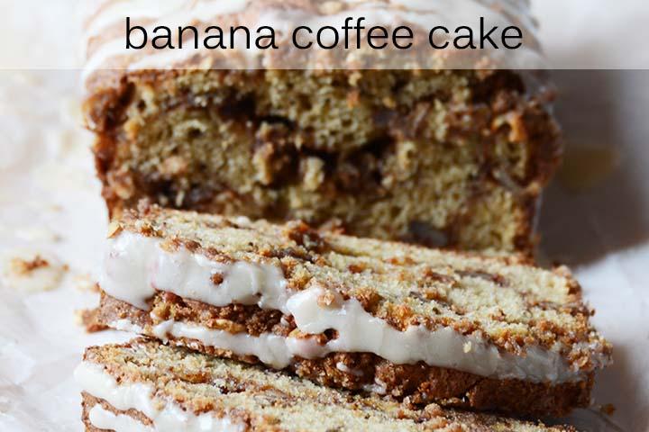 Banana Coffee Cake with Description