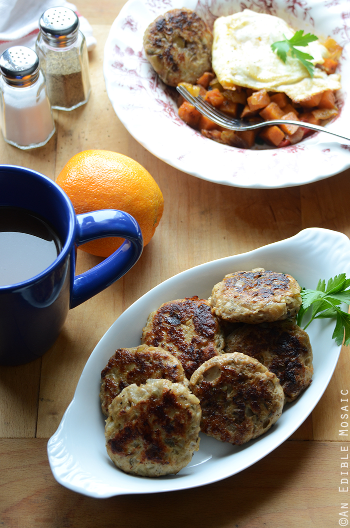 Apple-Onion Chicken Breakfast Sausage {Paleo} 3