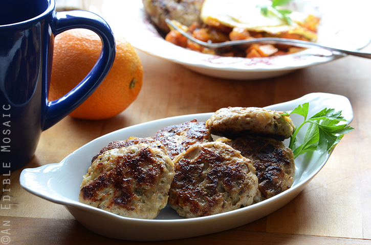Apple-Onion Chicken Breakfast Sausage {Paleo} 4