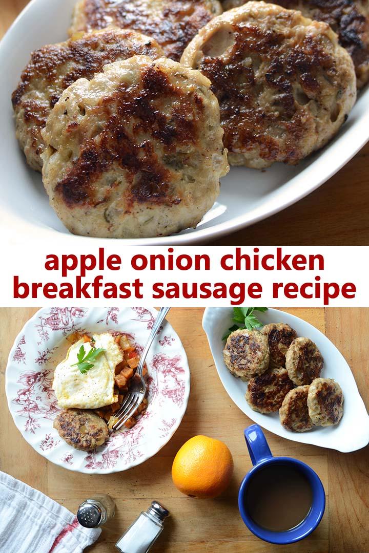 Chicken Breakfast Sausage Recipe Pin