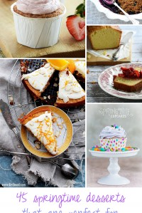 45 Springtime Desserts That Are Perfect for Easter